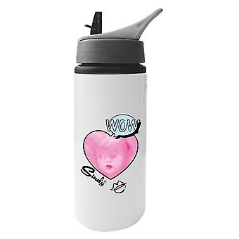 Sindy Wow Aluminium Water Bottle With Straw