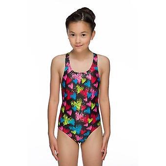Мару сердцах искру девочек плавать костюм Rave обратно