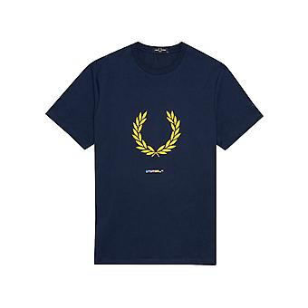 Fred Perry Men's Print Registration T-Shirt