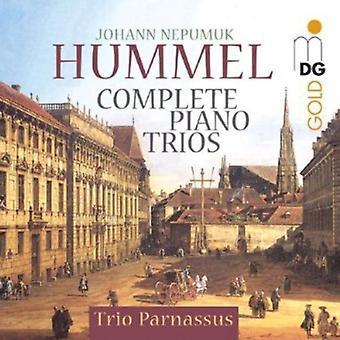 J.N. Hummel - Johann Nepomuk Hummel: Complete Piano Trios [CD] USA import