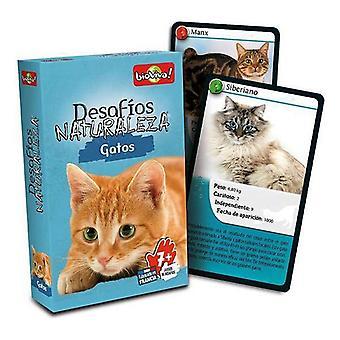 Board game Desafíos Naturaleza Gatos Asmodee (ES)