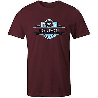 Sporting empire west ham united 1895 established badge football t-shirt