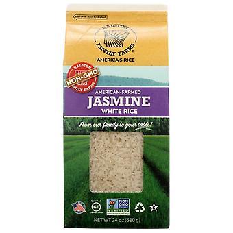 Ralston Family Farms Rice Jasmine White, Case of 6 X 24 Oz
