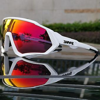 Ridning Cykling Solbriller Mtb Polariseret Sports Cykling Briller Beskyttelsesbriller Cykel Mountain Bike Briller