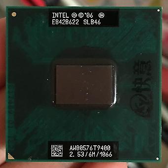جديد 2 الثنائي t9400 pga 478 معالج كمبيوتر محمول وحدة المعالجة المركزية sm46939