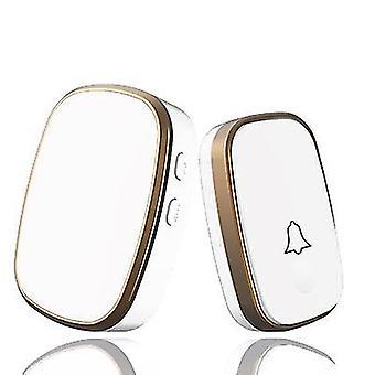 Remote Control Of Household Waterproof Doorbell(White)