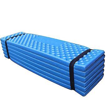 Double rainure et tampon pliable et épaississant résistant à l'humidité pour l'extérieur (bleu)
