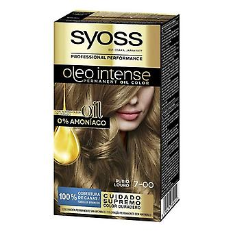 Permanent färgämne Olio Intensiv Syoss Nº 7,00 Blondin