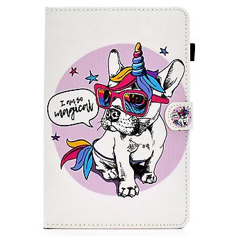 Case For Ipad 9 10.2 2021 Cover With Auto Sleep/wake Pattern Magnetic - Dog