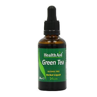 HealthAid Vihreä Tee Neste 50ml (804410)