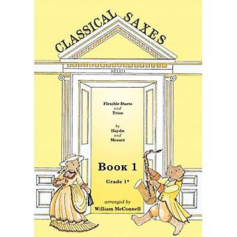 Klassiska saxofoner: Bok 1 Arr: William Mcconnell Spartan Press