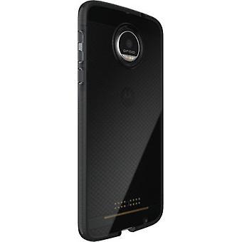 Tech21 Evo Check FlexShock Case for Moto Z Droid XT1650 - Smokey/Black