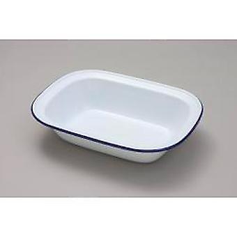 Falcon Pie Dish Avlång - Traditionell vit 28cm x 21cm x 6.5D