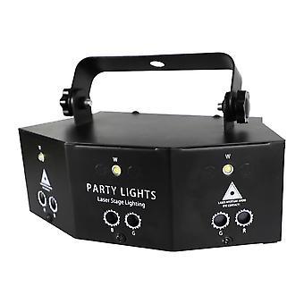 Disco Dj Strobe Lavan valo projektori