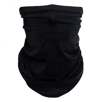 Gesichtsbedeckung Schal, Sommer Cool AtmungsaktivEs leichtes Sonnen- und winddichtes (Schwarz)