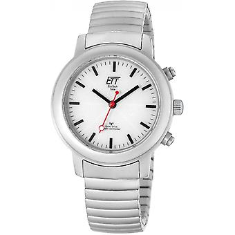 ONE (Eco Tech Time) Silver Stainless Steel ELS-11188-11M Women's Watch