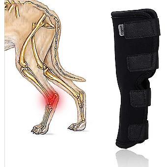 Dog Leg Brace Pet Koleno Podložky pre zranenie a vyvrtnutie ochranné rany