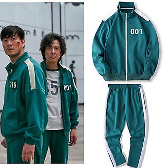 Squid Gaming Jacket The Same L Size Sportswear Pants Sweater Suit