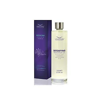 Universal Contour Wrap Detox Massageöl - Rosmarin & Limette