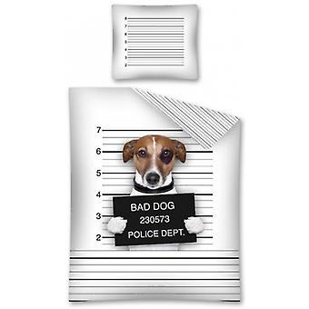 Couette couverture Méchant chien