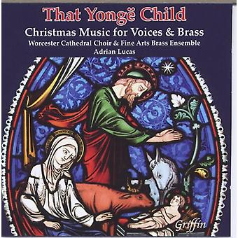 That Yongd Child - Christmas Music for Vo [CD] USA import