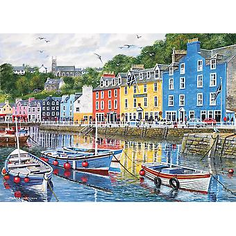 Gibsons Tobermory Jigsaw Puzzle (1000 Pieces)