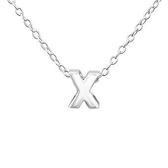 &x&&- 925 Sterling Ezüst Sima Nyakláncok - W24312x