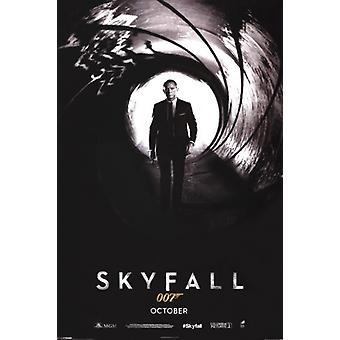James Bond - Skyfall Teaser-Poster-Plakat-Druck