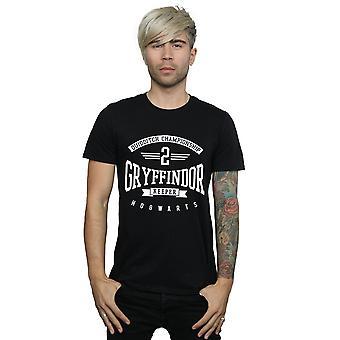 Harry Potter mænds Gryffindor Keeper T-Shirt