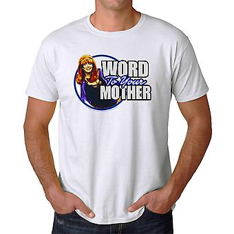 Married With Children Word Mother Men's White T-shirt