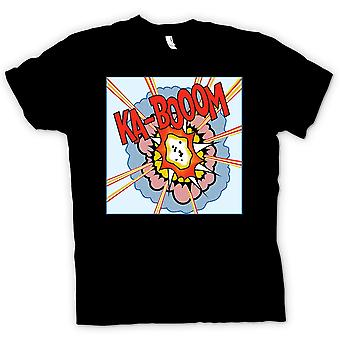 Kids T-shirt - KaBoom - Lichentstein - Pop Art