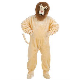 Plüsch-Löwe Kostüm (Kostüm Handschuhe Shoe Cover Mask)