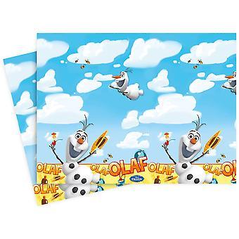 Nappe de table tissu nappe OLAF Frozenparty enfants anniversaire 120x180cm