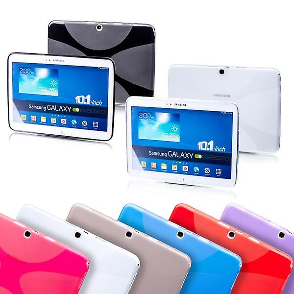Schutzhülle Silikon X-Line Serie Pink Hülle für Apple iPad Pro 9.7 Zoll