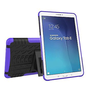 Hybrid outdoor protective cover case purple for Samsung Galaxy tab E 9.6 SM T560 T561 bag