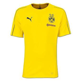 2018-2019年ボルシア ・ ドルトムント プーマ トレーニング シャツ (黄色) - 子供します。