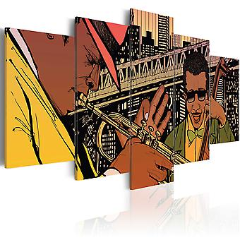 Canvas Print - Jazzy NYC