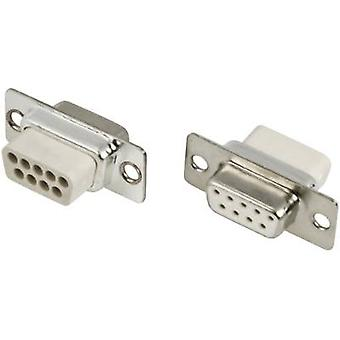 MH Connectors MHDBC25SS-NW D-SUB receptacles 180 ° Number of pins: 25 Crimp 1 pc(s)