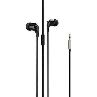 Vivanco Talk 4 In-ear headphones In-ear Headset Black