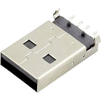 USB A Plug Socket, horizontal mount DS1098-BN0 Connfly Content: 1 pc(s)