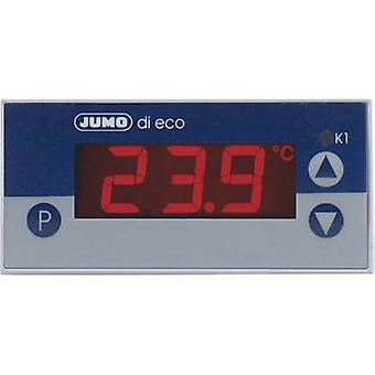 Jumo di eco temperatuurregelaar Pt100, Pt1000, KTY2X-6-200 tot + 600 ° C 10 A estafette (L x W x H) 56 x 76 x 36 mm