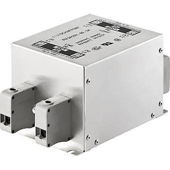 Schaffner FN2410-8-44 EMI filter 250 V AC 8 A (L x W x H) 130 x 93 x 62 mm 1 pc(s)