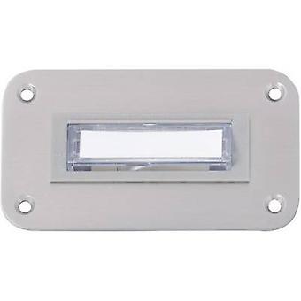 Heidemann 70065 Bell panelet bakgrunnsbelyst 1 x rustfritt stål 8-12 V/1 A