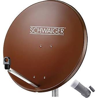 Schwaiger SPI9962SET1 SAT system w/o mottagaren antal deltagare 1 80 cm