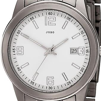 Men's Watch Quartz Analog Titanium Men's Watch with Date