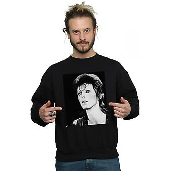 David Bowie Men's Ziggy Looking Sweatshirt