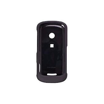 Pacote 5 - Motorola W835 Crush emborrachado caso - preto