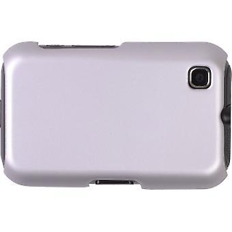 Soluciones inalámbricas Color haga clic en caso de Shell para Nokia 6790 - plata