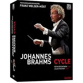 Symphonien Nr. 1-4 - tragische Ouvertüre [DVD] USA importieren