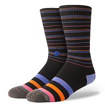 Stance Ritter Crew Socks in Black